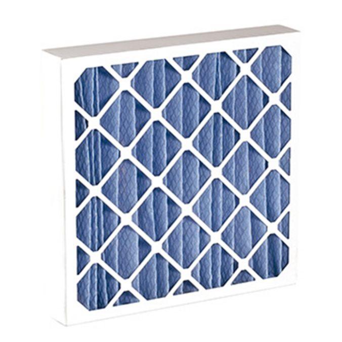 Filtros construidos en marcos de cartón.