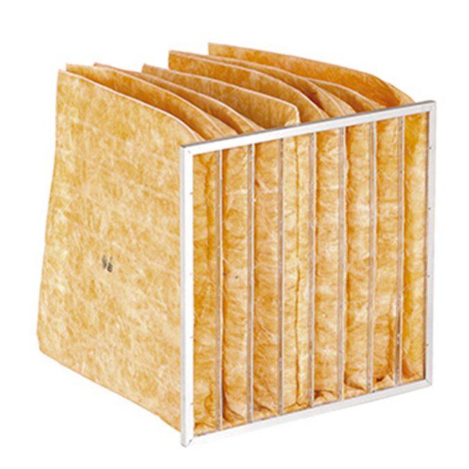 La media filtrante es fibra de vidrio. Filtros de Bolsa Bagfil M6