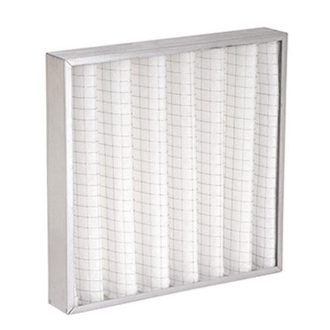 Son filtros construidos en marcos de acero galvanizado. Quebrafil Metálicos